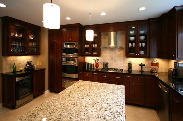 Small Elegant Kitchen Remodels - Contemporary - Kitchen ...