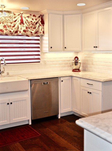 Small French Country Kitchen Remodel San Diego