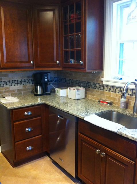Small galley kitchen for Traditional galley kitchens