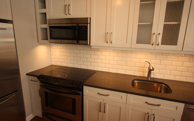 Small Gold Coast Condo Kitchen Remodel  Contemporary  Kitchen