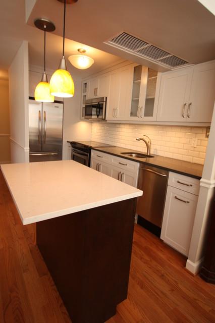 Small gold coast condo kitchen remodel contemporary kitchen chicago by design build 4u - Modern kitchen for small condo ...