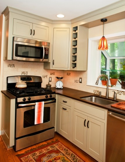 Small Kitchen Boasts Function With Design Details Kitchen Dc Metro