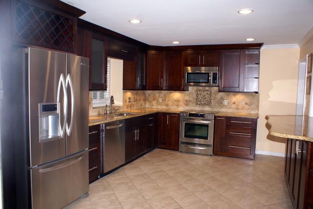 Small Kitchen Makeover Modern Kitchen Atlanta By Atlanta Legacy Homes Inc