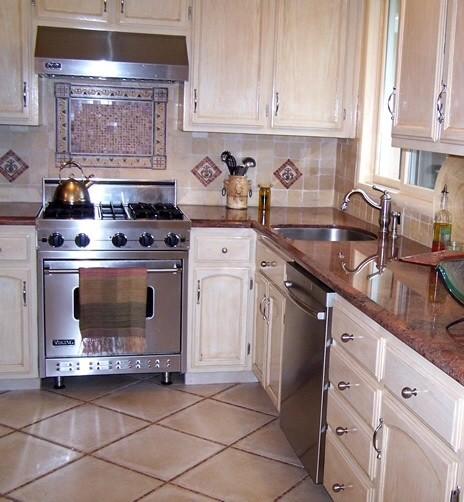 Small kitchen remodel in Walnut Creek rustic-kitchen