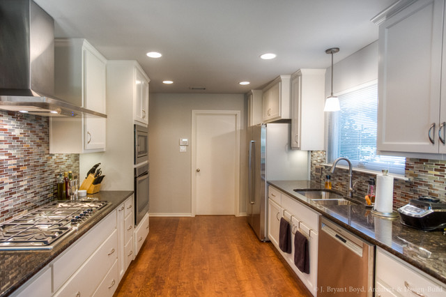 Small Kitchen Remodel Contemporary Kitchen Austin By J Bryant