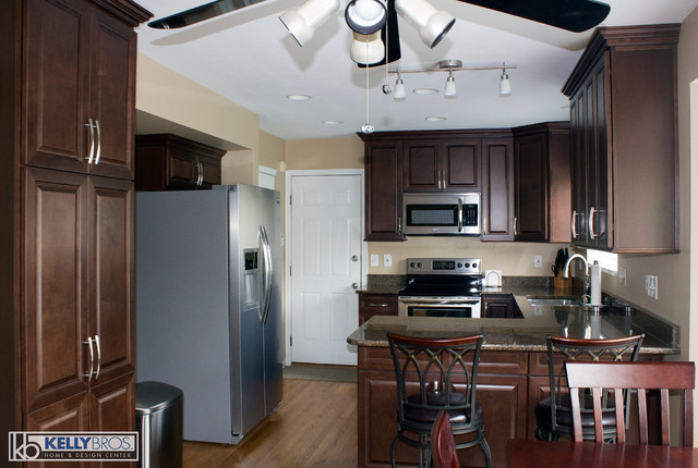 Small Kitchen Remodel Transitional Kitchen Cincinnati By Kelly Brothers Home Design Center