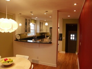 Small Kitchen Remodel Madison Wi Contemporary