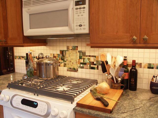 small kitchen remodel tile backsplash traditional kitchen
