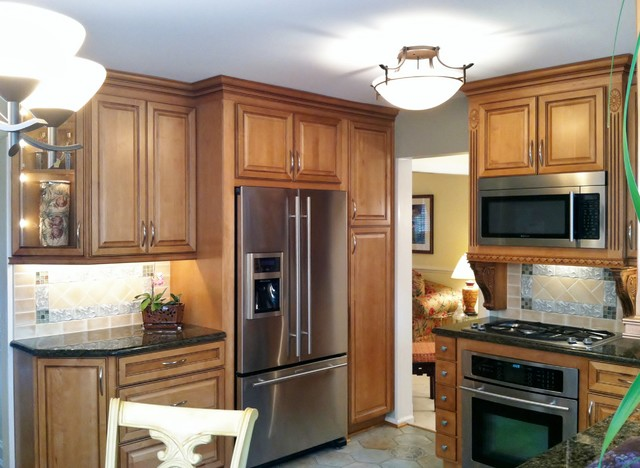 Small Kitchen Remodeling Centreville Va Traditional