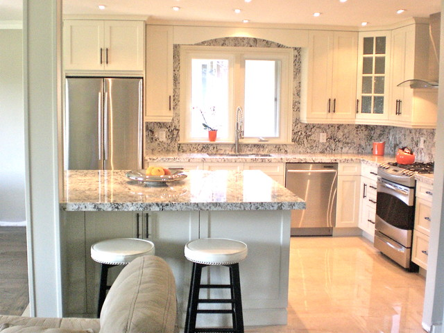 Small kitchen renovation traditional kitchen toronto for Small kitchen remodeling ideas home renovation