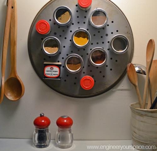 Small kitchen renter-friendly makeover