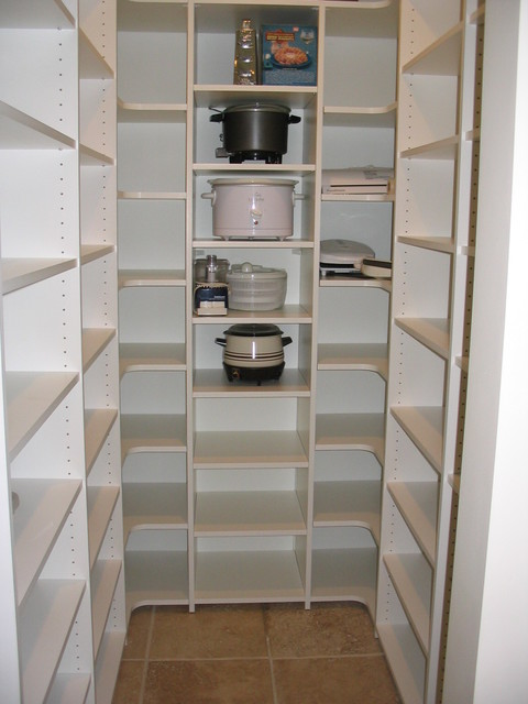 Small Pantry contemporary kitchen