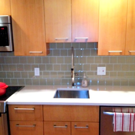 SMALL SINK IN GALLEY KITCHEN Transitional Kitchen Boston By Kim Eifrid