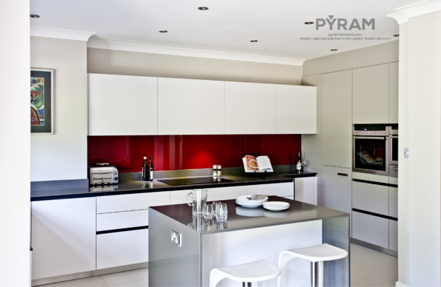 Small Space Big Kitchen Contemporary Kitchen South East By