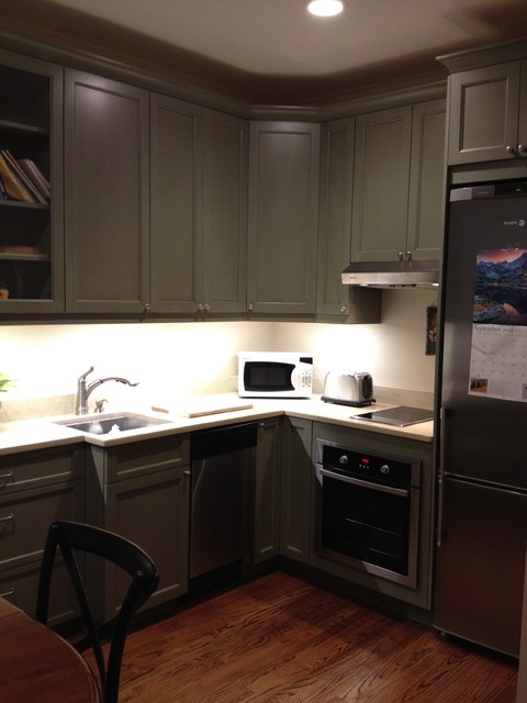Small studio condo for Houzz small kitchens