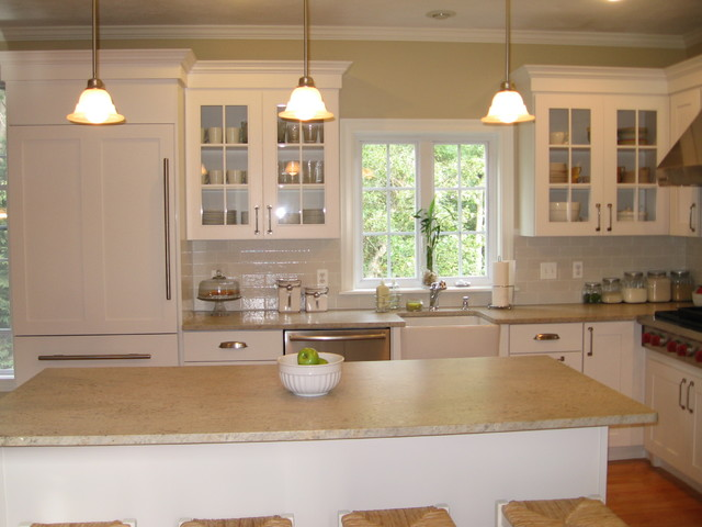 Superior Small White Kitchen