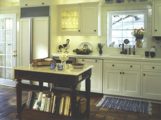 Small Yellow Kitchen (Sink View) kitchen