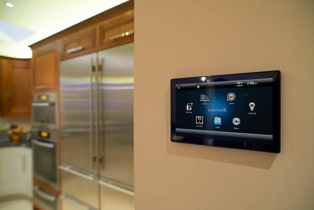 Smart Home Touch Screen - Kitchen - Orange County - by Launch Systems