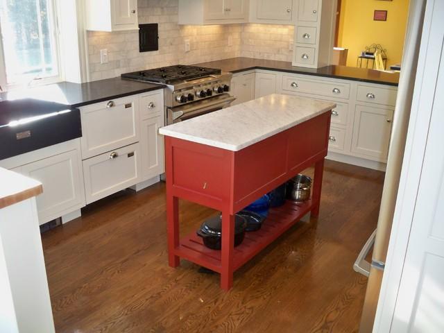 Smithfield RI traditional-kitchen