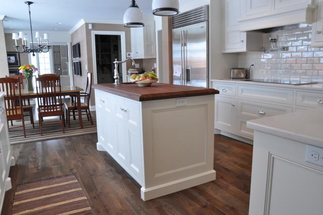 Smoldering Hickory Contemporary Kitchen