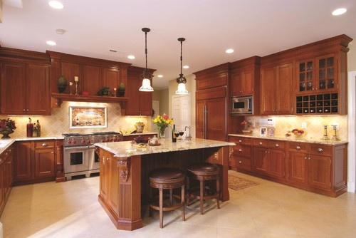 How tall is the ceiling here and what height are the wall for Ceiling height kitchen cabinets