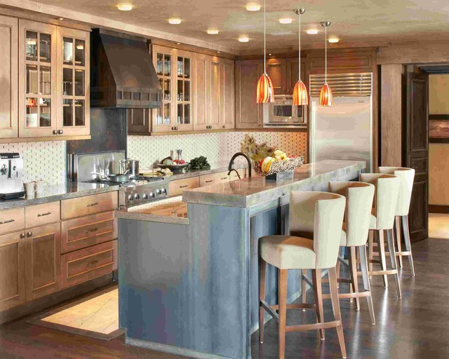 Snow Cloud - Bachelor Gulch Residence eclectic-kitchen