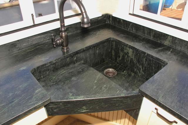 Soapstone Counters contemporary-kitchen