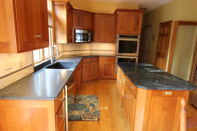 Soapstone countertop wadsworth ohio 1 traditional for 1 kitchen cleveland ohio
