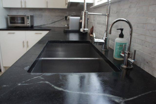 Undermount Granite Kitchen Sink  With Drainboard For Sale