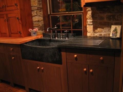 Soapstone Sinks Farmhouse Kitchen