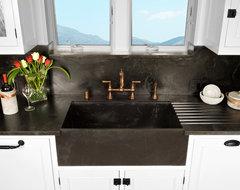 Soapstone Werks Custom sinks traditional-kitchen
