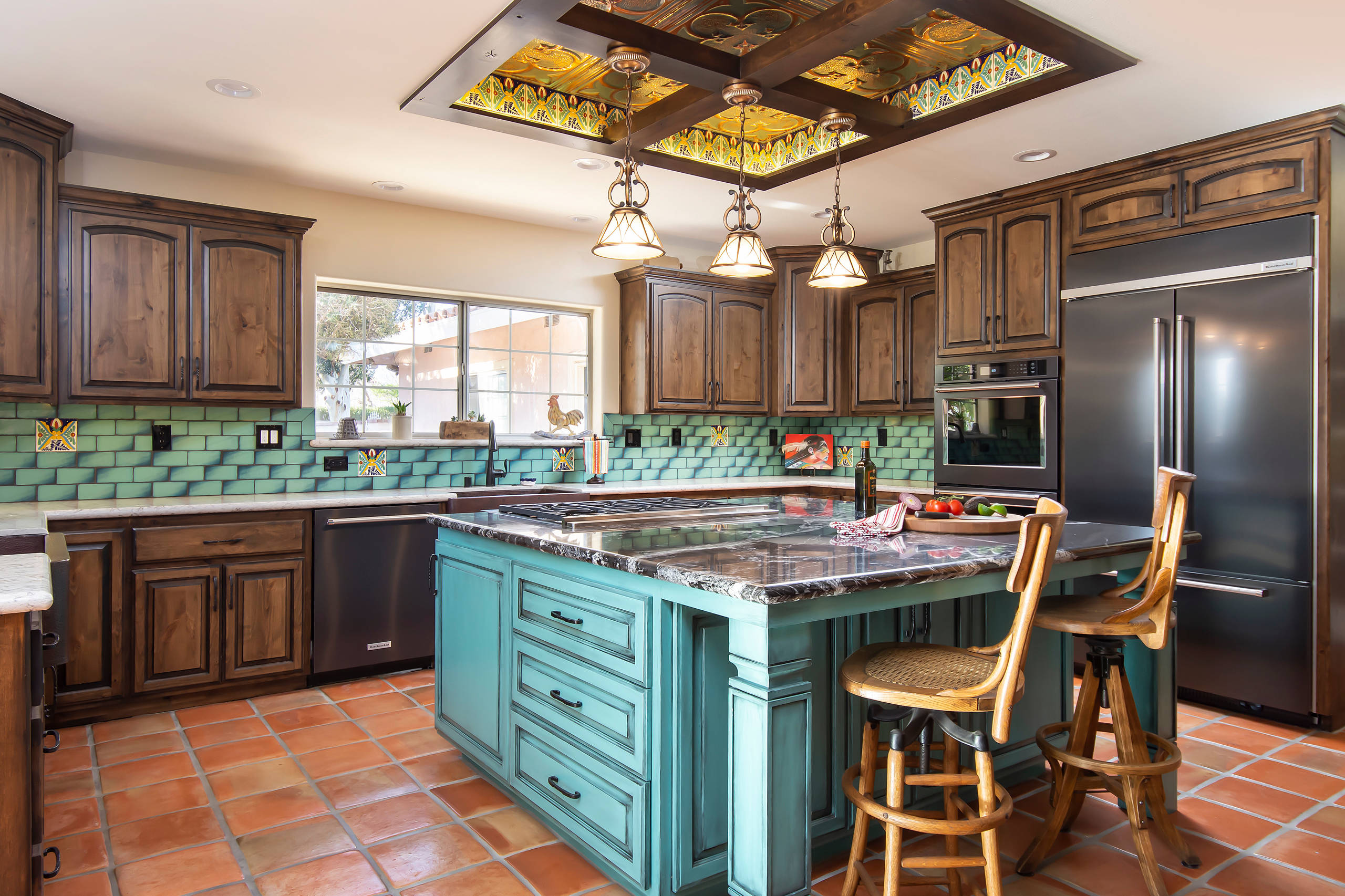 - 75 Beautiful Terra-Cotta Tile Kitchen Pictures & Ideas - July