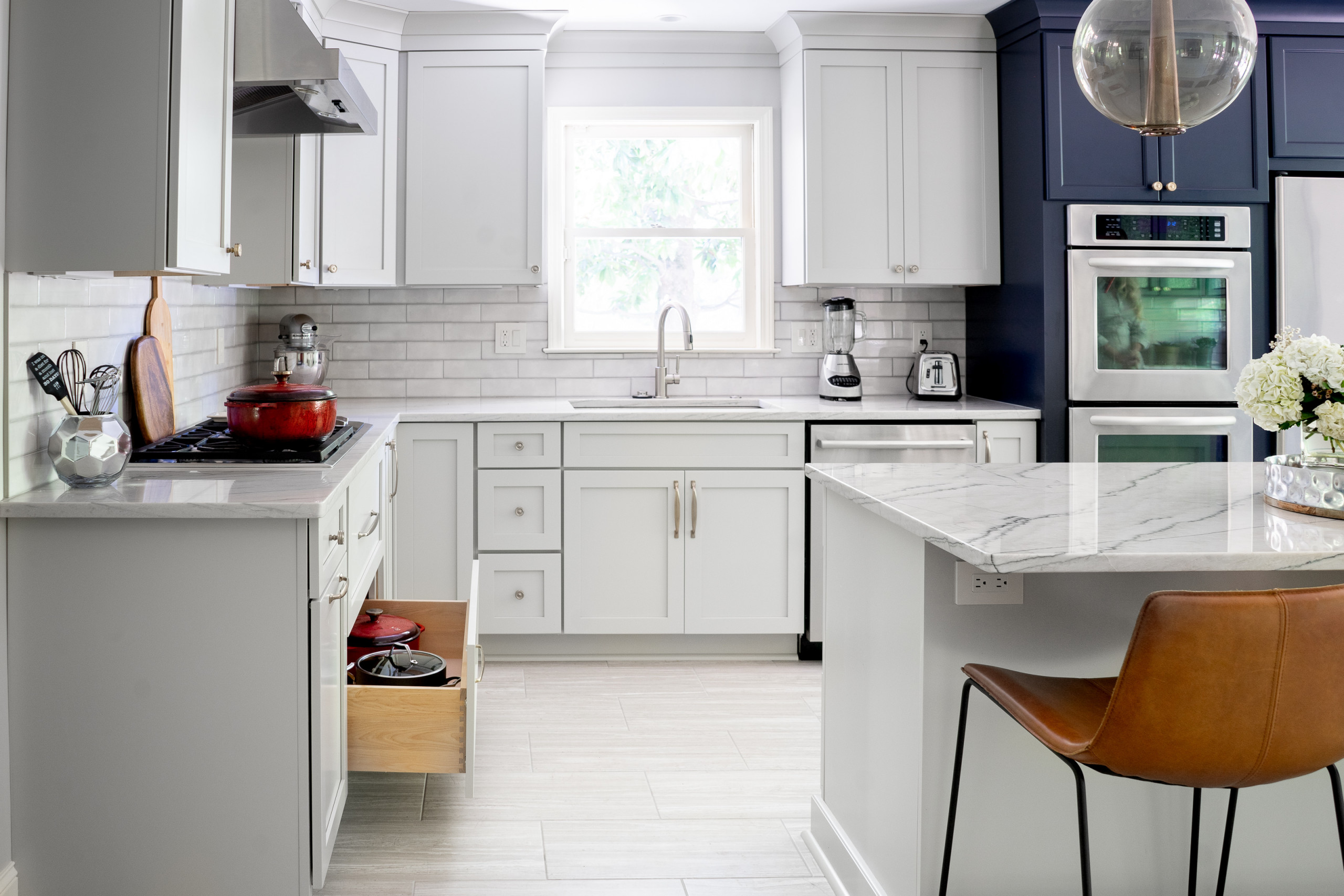 Soft Contemporary and Industrial Chic