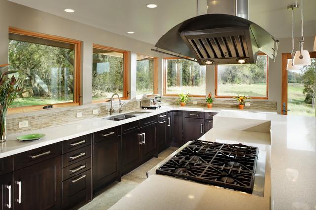 Soft Contemporary Home contemporary-kitchen