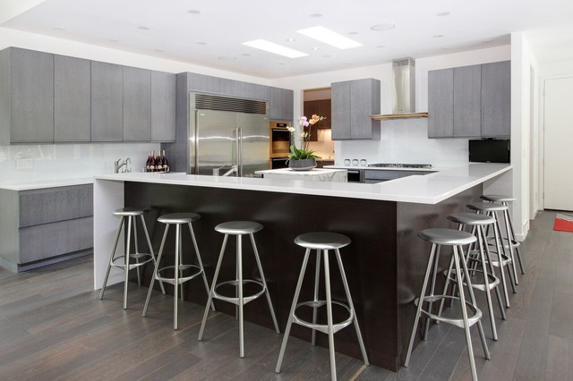 Soft Contemporary Home Modern Kitchen Chicago By Rs Design Studio