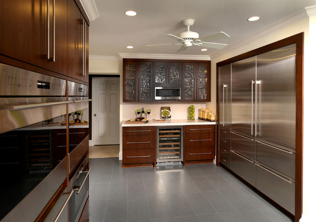 Soft Contemporary Contemporary Kitchen Other By Pdb Designs Llc