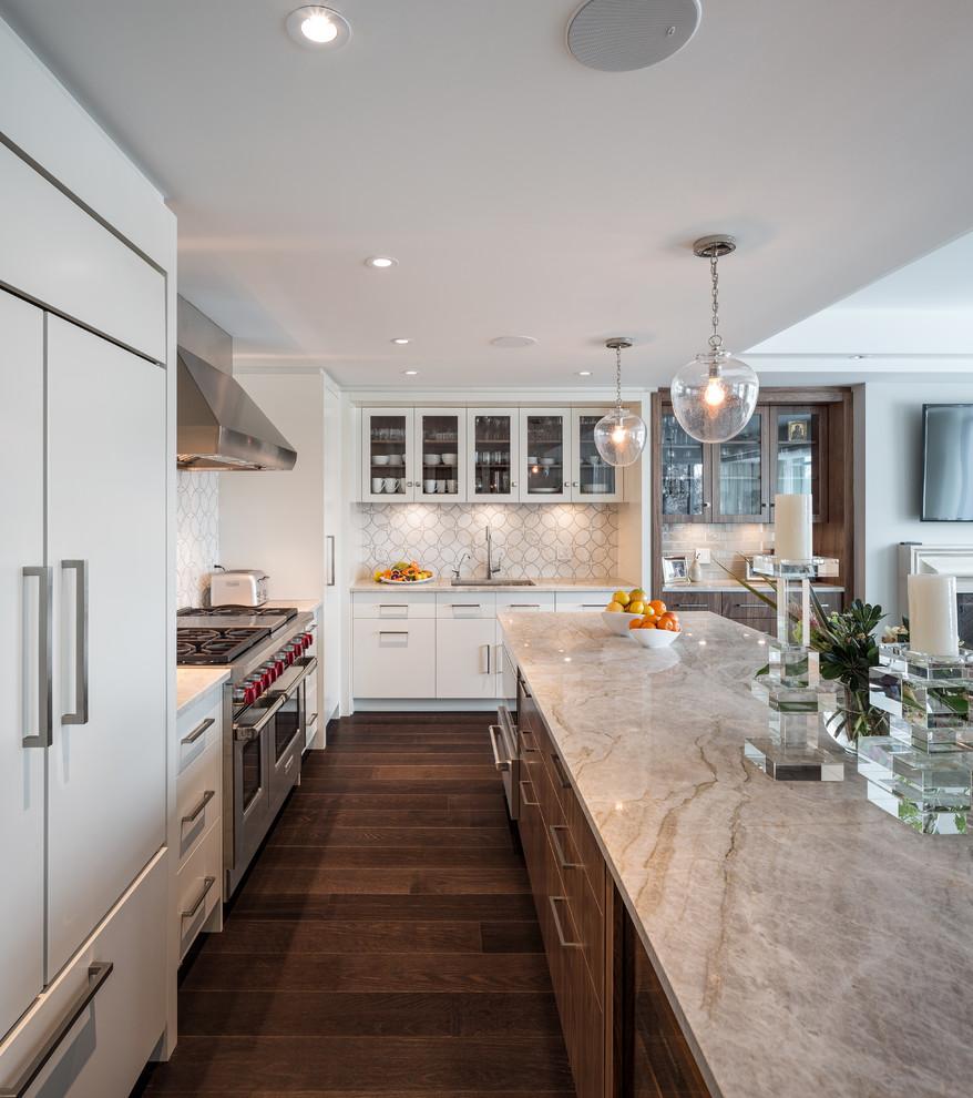 Soft Modern Kitchen Astro Design Centre Ottawa Canada