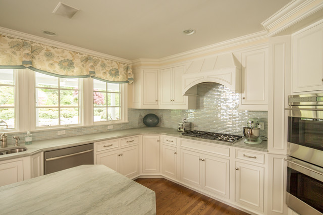 Soft White Custom Cabinets In CT