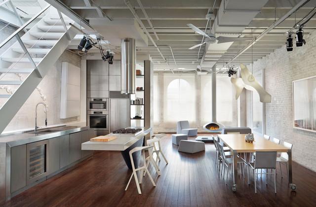 Soho Loft - Rooftop Expansion modern-kitchen