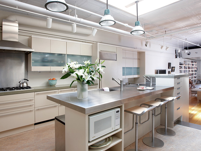 small kitchen designs images soho serene industrial kitchen new york by cwb 5452
