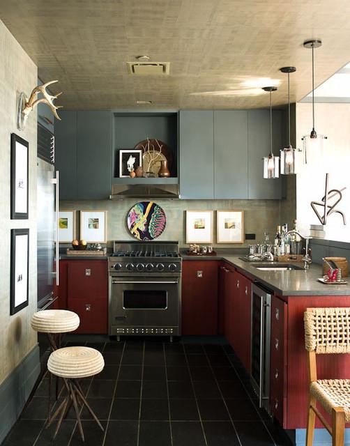 Soho eclectic-kitchen