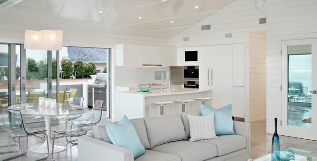 Solana Beach House Beach Style Kitchen San Diego By Solomon Interior Design Inc