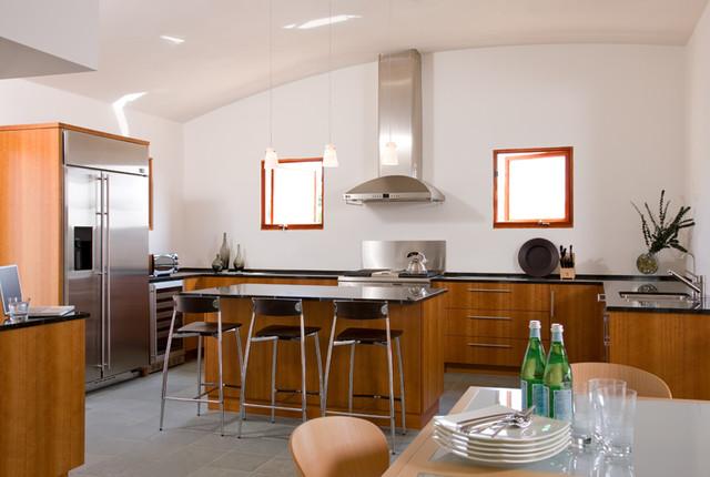 Solana Beach Residence modern-kitchen