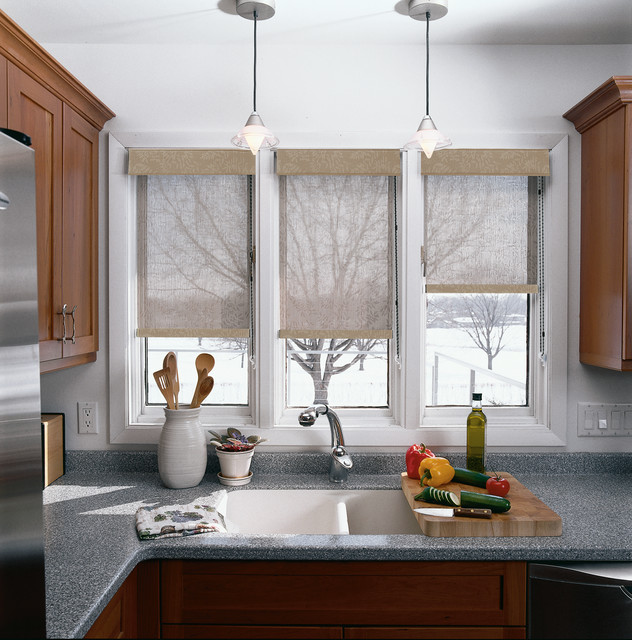 Charmant Window Treatments. Solar / Roller / Dual Shades Contemporary Kitchen