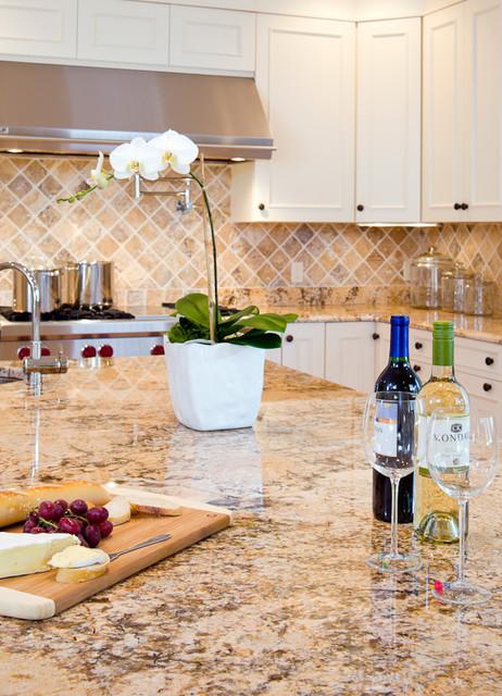 Solarius Granite Countertops Traditional Kitchen