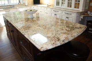 Solarius granite kitchen countertops Newtown Connecticut - Traditional - Kitchen - new york - by ...