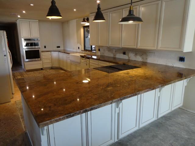 Solarius Granite Traditional Kitchen Sacramento By