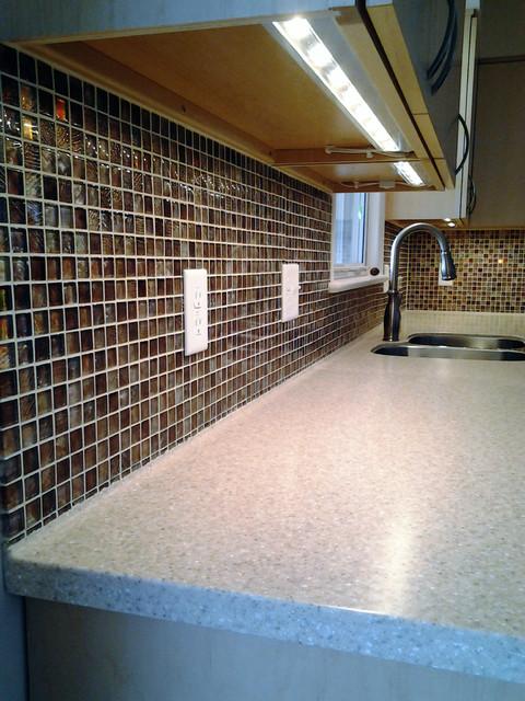 Solid Surface Tile Ready Back-splash contemporary-kitchen - Solid Surface Tile Ready Back-splash - Contemporary - Kitchen