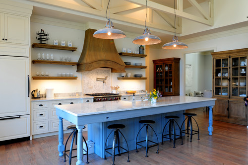 Modern residential interior: 6 color ideas for Interiors (PART II) rustic kitchen