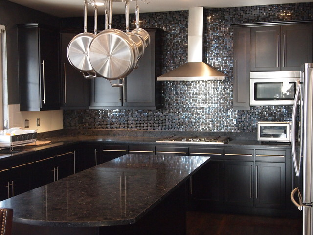 Soltera Backsplash Modern Kitchen Denver By Creative Arts Design Center